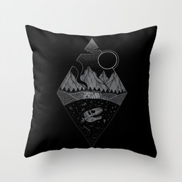 Nightfall II Throw Pillow