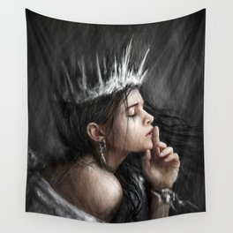 Queen of Secrets Wall Tapestry