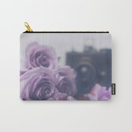 Photogenic Purple Roses Carry-All Pouch