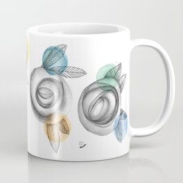 carbon roses and colordots Coffee Mug