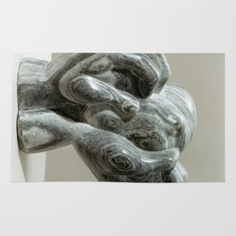 Kneading Hands by Shimon Drory Rug