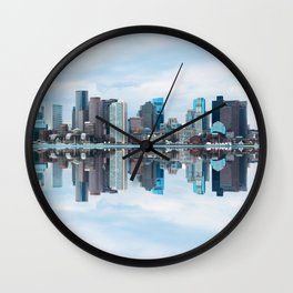 Boston reflection Wall Clock