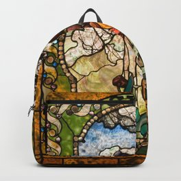 Louis Comfort Tiffany - Decorative stained glass 18. Backpack