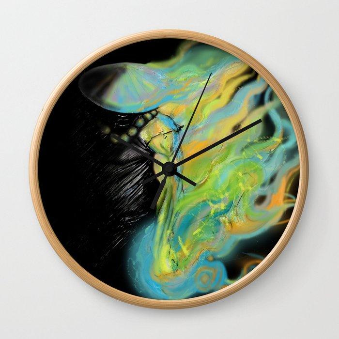 Yama kaji Wall Clock