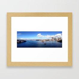SYD Framed Art Print