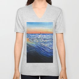 Newport Beach Unisex V-Neck