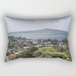 Rangitoto Island Auckland Rectangular Pillow