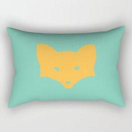 Inner Fox Rectangular Pillow