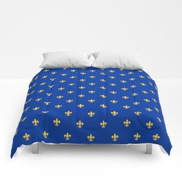 Royal Blue Comforters