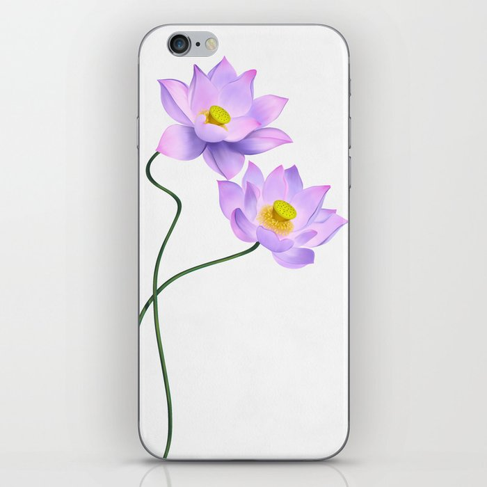 Thamarai, Yellow Flower, Floral Pattern, Yellow Blossom iPhone Skin