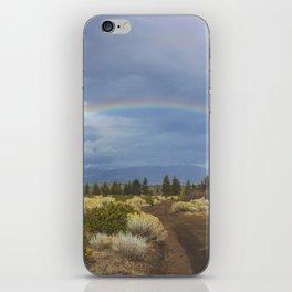 Rainbow Mountain iPhone Skin