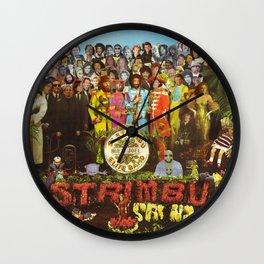 Sgt. Strimbu's Huey Joel Elite Band Wall Clock