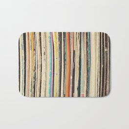 Record Collection Bath Mat