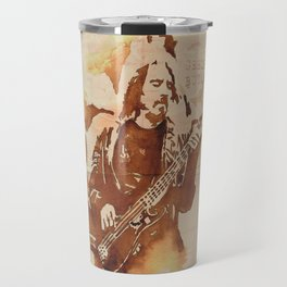 Geezer Butler Ilustracafe Travel Mug