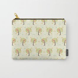 Pattern of trees and birds Carry-All Pouch
