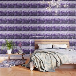 Ultra Violet Adventure Forest Wallpaper
