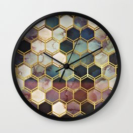 RUGGED MARBLE Wall Clock