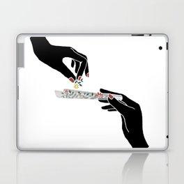 Flower roll / Illustration Laptop & iPad Skin