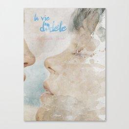 La vie d'Adele, movie poster - chapter two - alternative playbill Canvas Print