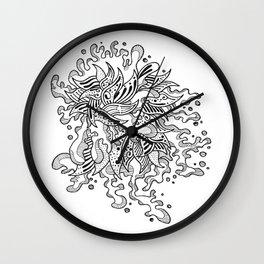 Pyschsplash Wall Clock
