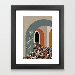 Palette 1 Framed Art Print