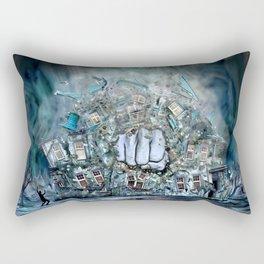 Violence Rectangular Pillow