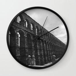 Segovia, Spain - Aqueduct Wall Clock