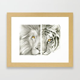 Whole Made of Pieces Framed Art Print