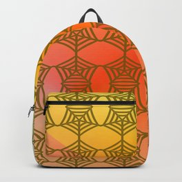 Pattern by spider web ... Backpack