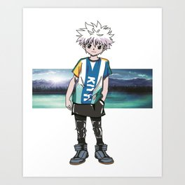 Killua Hunter X Hunter Art Print