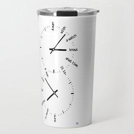 Two Watches Travel Mug