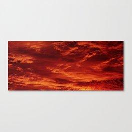 Inferno Skies Canvas Print