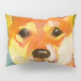 Shibainu on canvas Pillow Sham