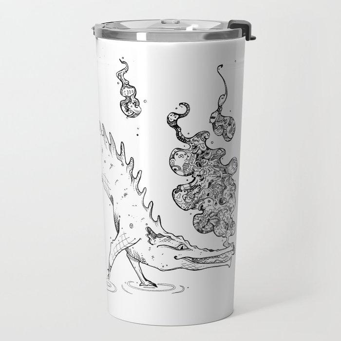 Pun'croc Travel Mug