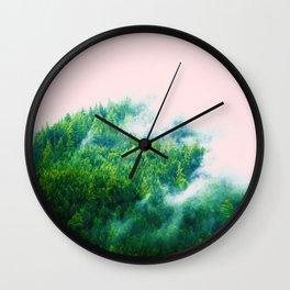 Into The Fog #society6 #decor #buyart Wall Clock