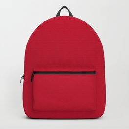 Houston Football Team Red Solid Mix and Match Colors Backpack