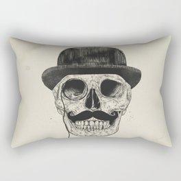 Gentlemen never die Rectangular Pillow