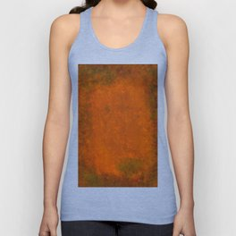 Weathered Copper Texture Unisex Tank Top