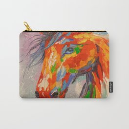 A COLORFUL HORSE Carry-All Pouch