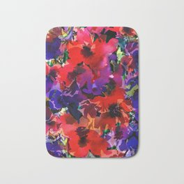 Plenty Poppies Bath Mat