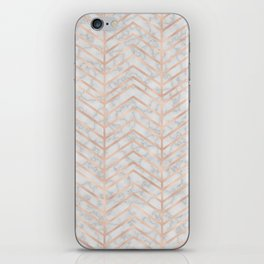 Marble With Zig Zag iPhone Skin