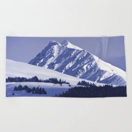 Back-Country Skiing - 8 Beach Towel