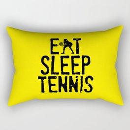 Eat Sleep Tennis Rectangular Pillow