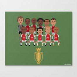 Arsenal Invincibles (squad) Canvas Print