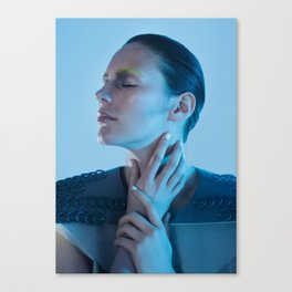 Human machine IIII Canvas Print
