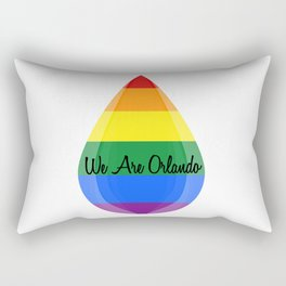 We Are Orlando Rectangular Pillow