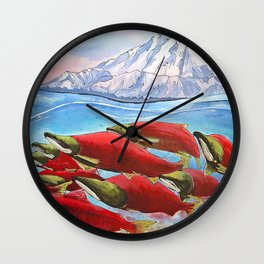 Returning Home Wall Clock