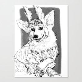 Thorgi!! Canvas Print