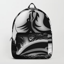 Yin and Yang Dragons Backpack