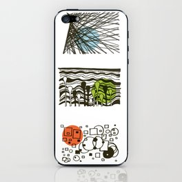 four seasons 2018 calendar iPhone Skin